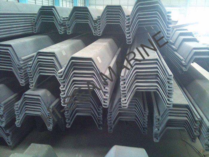 570 360 U Shaped Cold Formed Steel Sheet Pile 570 360 U