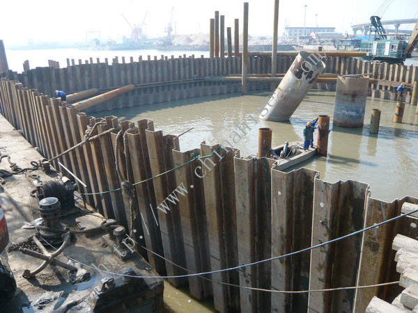 U Shaped Hot Rolled Steel Sheet Pile
