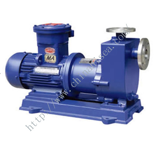 Self-priming Magnetic Driving Pump