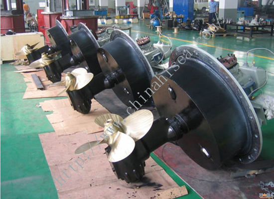 Well Rudder Propeller
