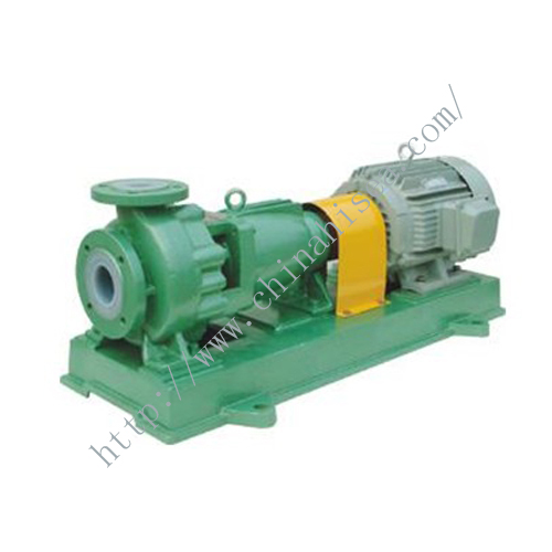 IHF Fluoro Plastic Chemical Pump