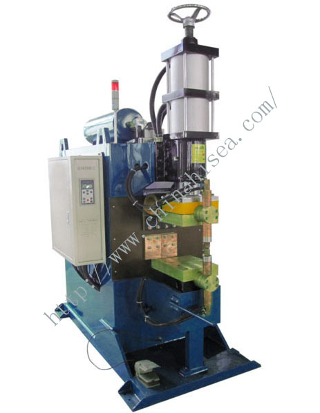 Three-phase secondary rectifier spot welder