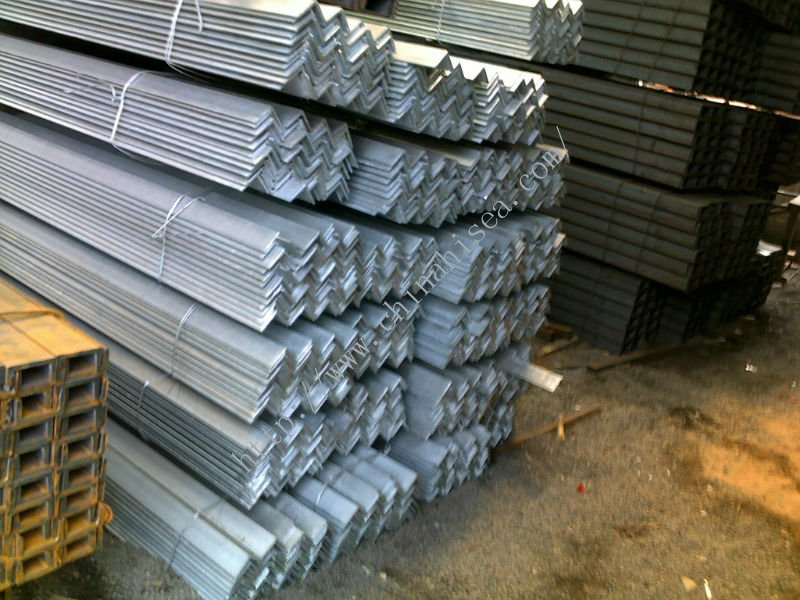Professional manufacturer of steel angle bar