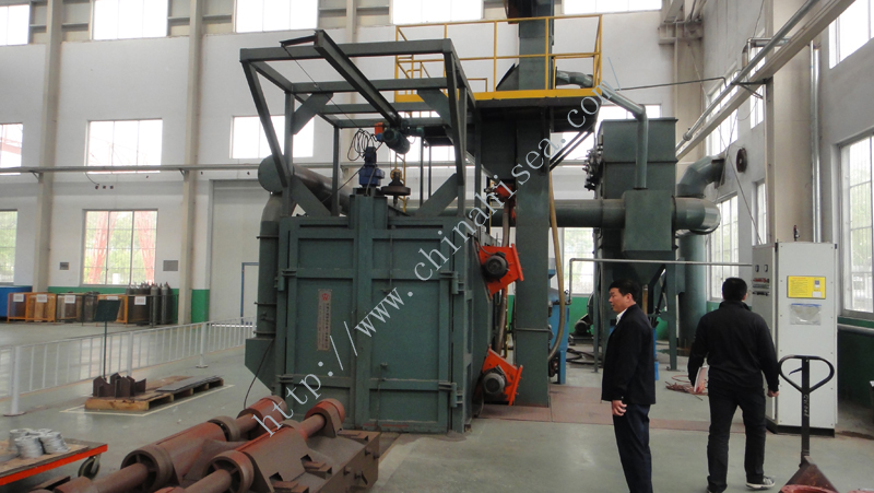 Automatic Environmental Pneumatic Recovery Sand Blast Room