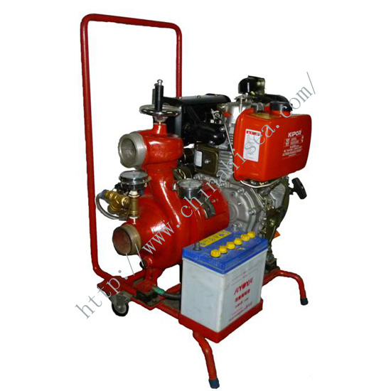 CWY Marine Diesel Emergency Fire Pump