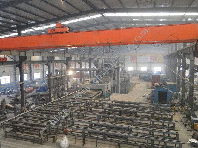 Pretreatment line of steel plate assembly factory.jpg