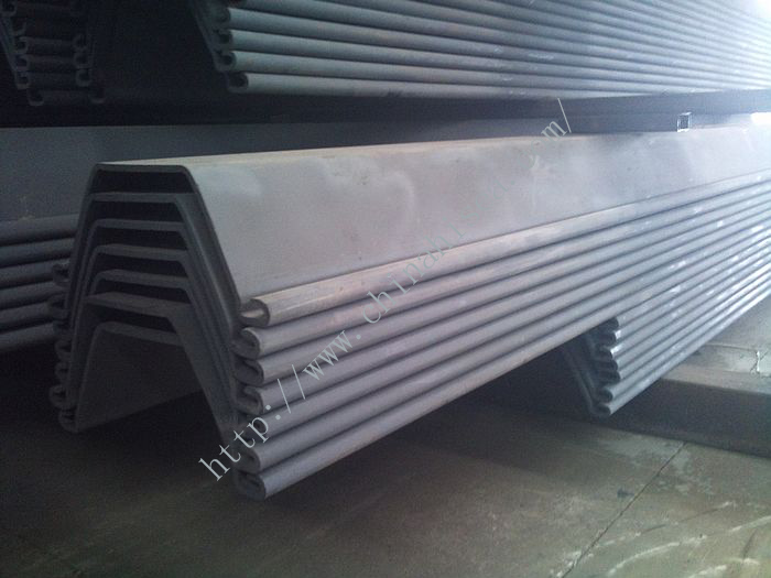750*320 U Shaped Cold Formed Steel Sheet Pile