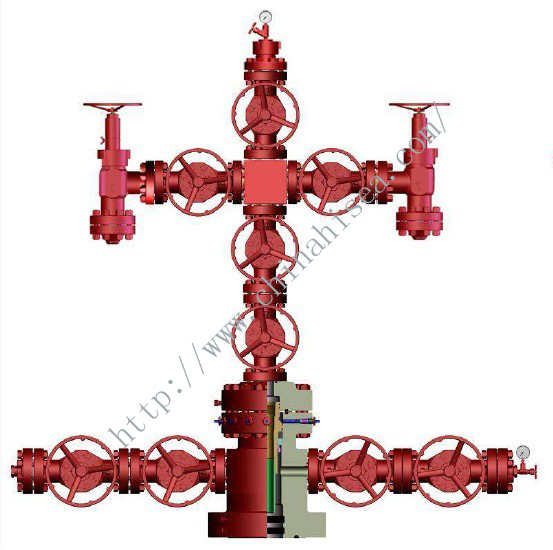 Oil(Gas) Conventional Christmas  Tree with Tubing Head - CGI.jpg