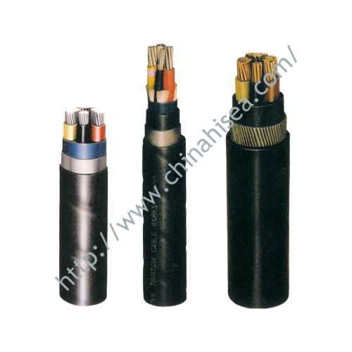 Shearer metal shield flame retardant cable