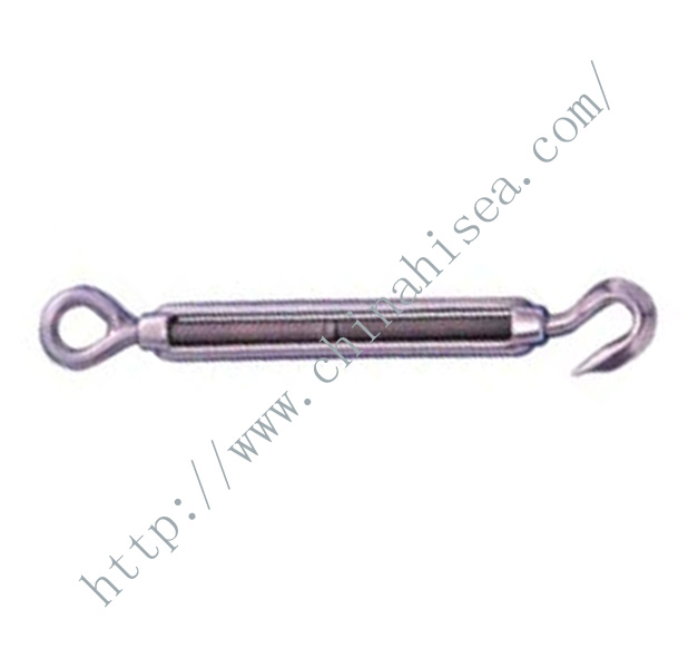 Stainless Steel Hook and Eye Open Body Turnbuckle