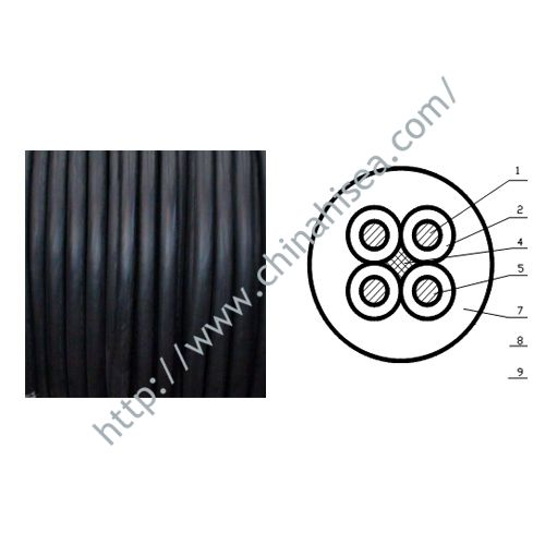 Drill Rig Rubber Sheath Cable