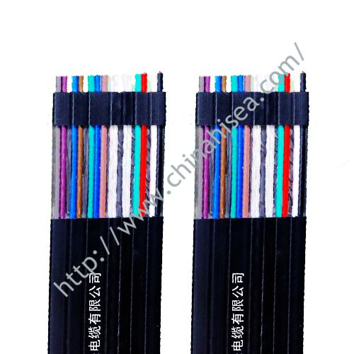 Plastic elastomer flexible cable