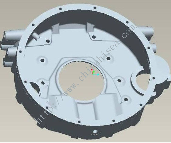 Cummins flywheel housing 3D drawing .jpg