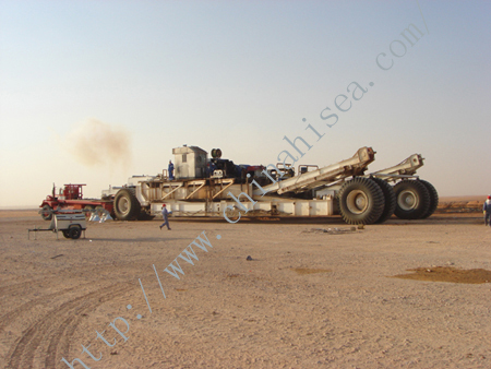 Electric Trailer-mounted Drilling Rig - on Site.jpg