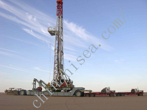 Oil/Gas Electric Trailer-mounted Drilling Rig