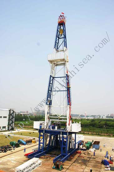 Oil/Gas Belt-drive Drilling Rig