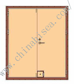 composite rockwool panel fire protection door.jpg