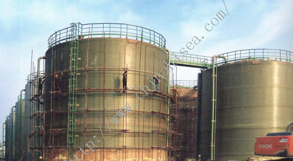 FRP Tank under Construction.jpg