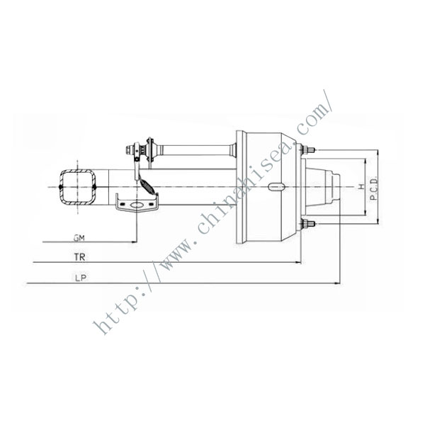 3-Drawing of Rear  Axle For Truck.jpg