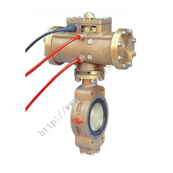 Marine Pneumatic Double Eccentric Butterfly Valve