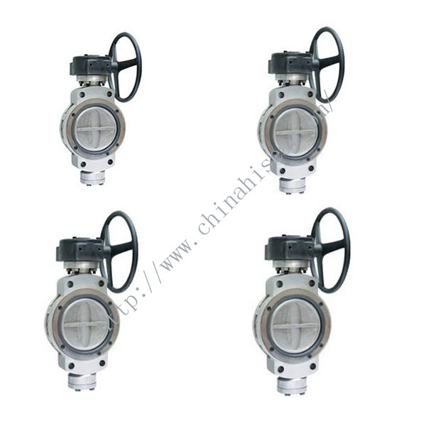 Worm Gear Transmission Butterfly Valve Pictures