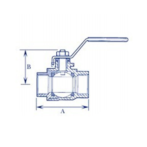 Brass Body Ball Valve Working Principle Diagram