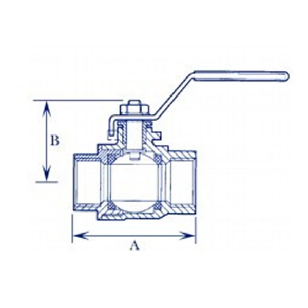 DZR Brass Ball Valve Working Principle Diagram