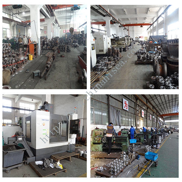 The ball valves factory