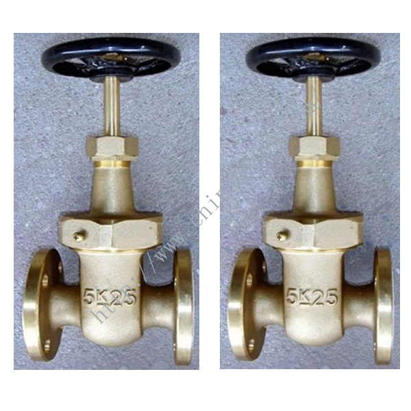 Related Marine Bronze Rising Stem Type Gate Valves Picture