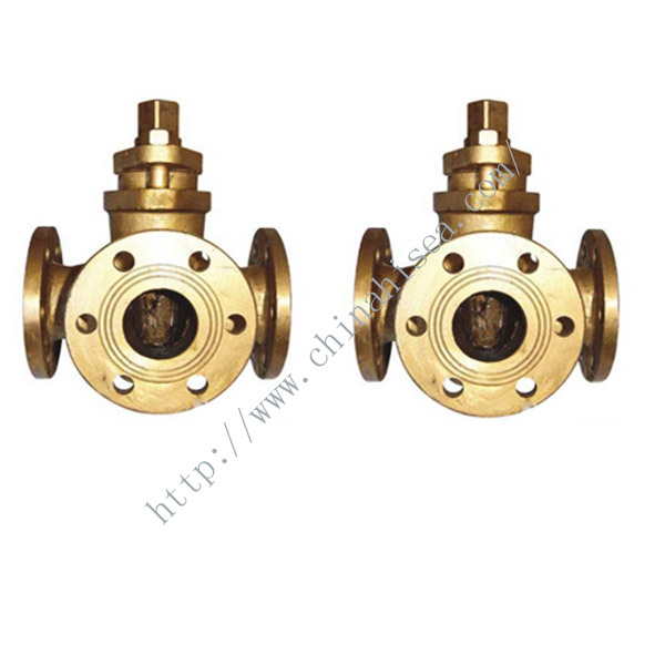 Marine Three Way Plug Valve