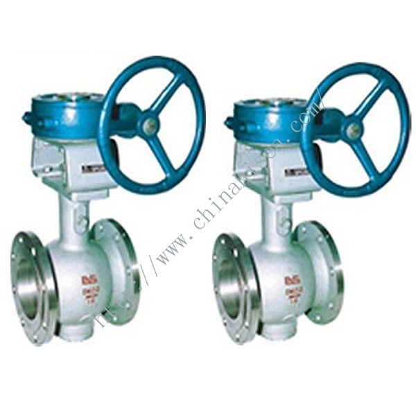 Eccentric Center Half-ball Valve