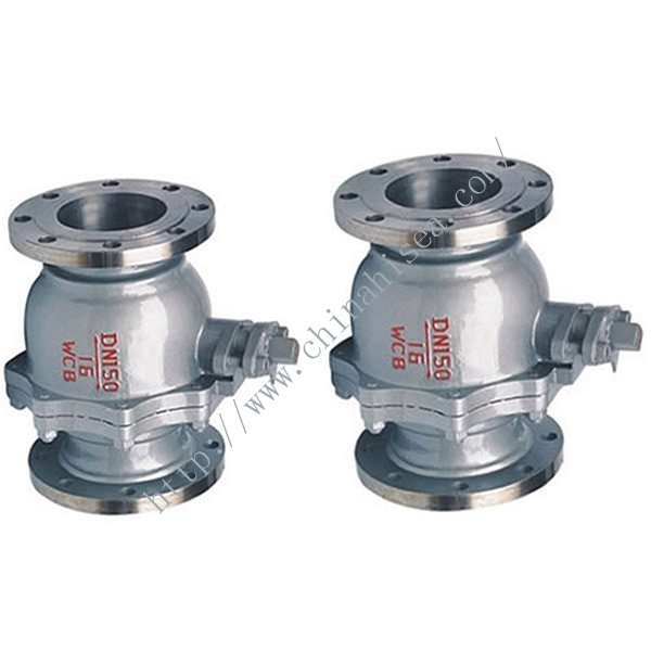 Float Soft Sealing Ball Valve Ball Body, Valve Rod