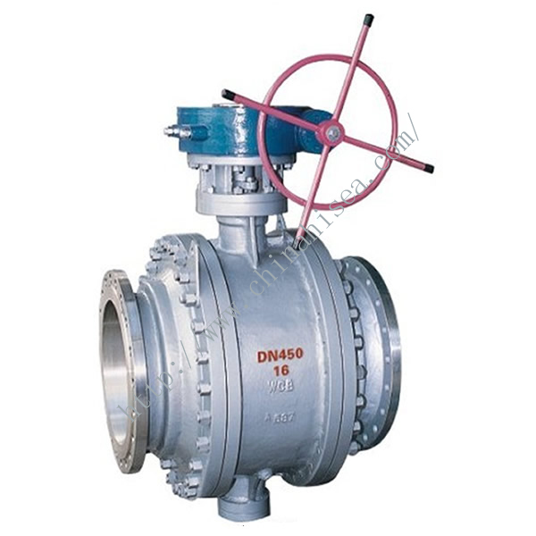 China Trunnion Ball Valve