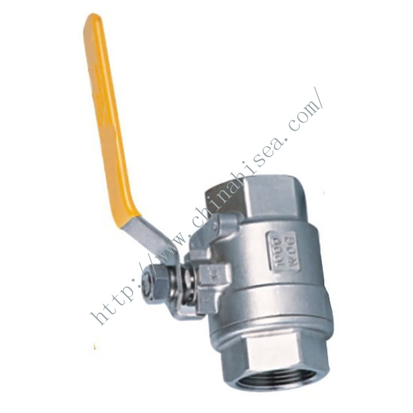 The ball valve thread