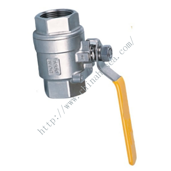 Thread ball valve can be 100% locked