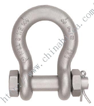 G-2130A Alloy Bolt Type Shackles Grade 80