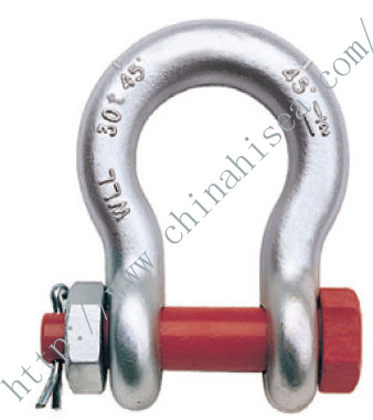 G-2140 S-2140 Alloy Bolt Type Anchor Shackles