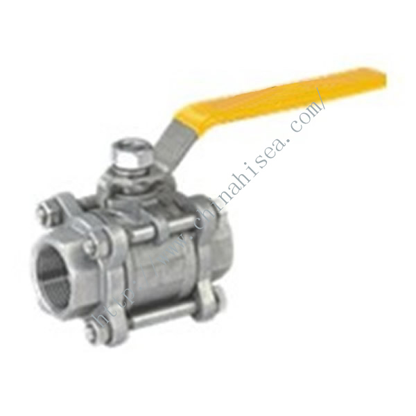 Three-piece Full Bore Ball Valve Shape