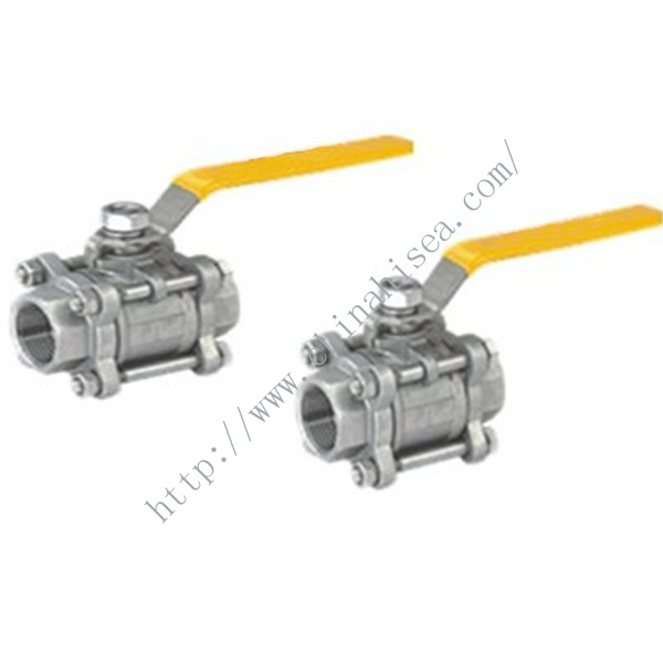 Three-piece Full Bore Ball Valve