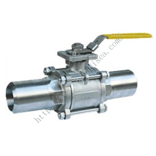 Three-pieces Stainless Steel Ball Valve