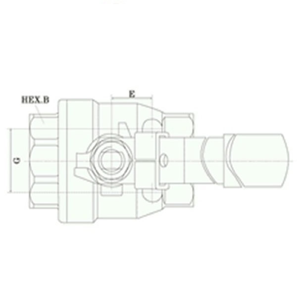Two Pieces Ball Valves Working Theory