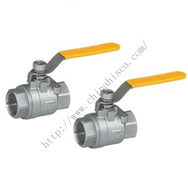 Two Pieces Ball Valves