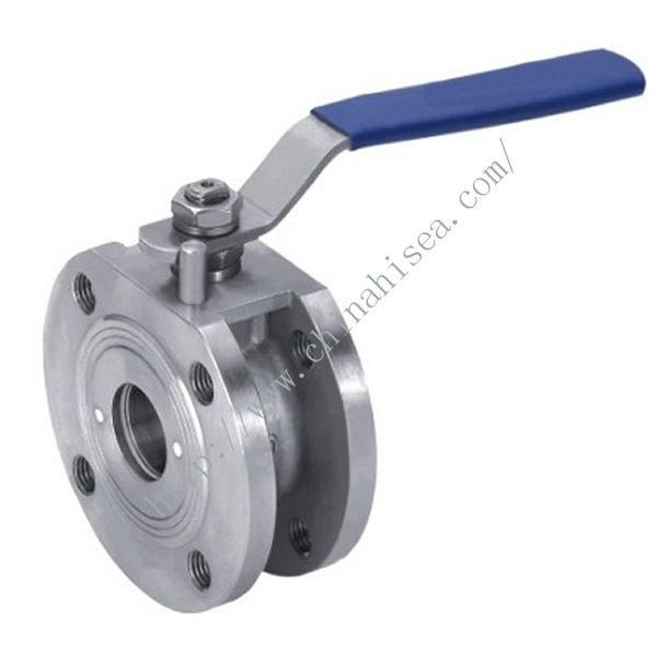 Clamp Ball Valve Side View