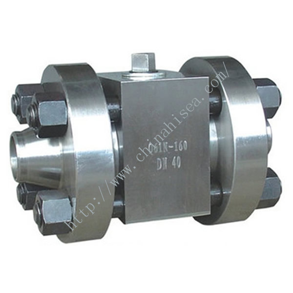 High Pressure Welding Ball Valve