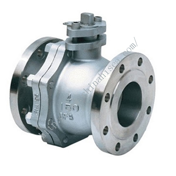 Steel Ball Valve Left Part