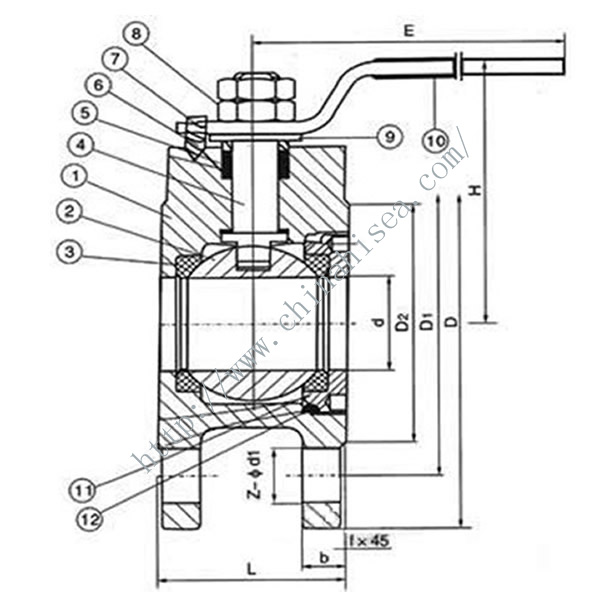 Wafer Type Ball Valve Working Theory