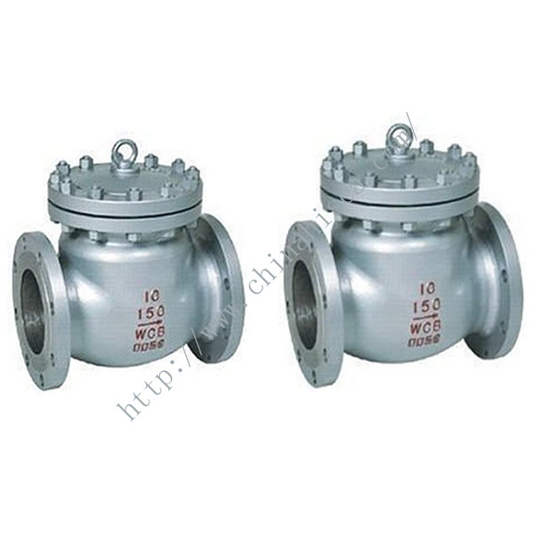 H44H 300 LB API Check Valve in Factory