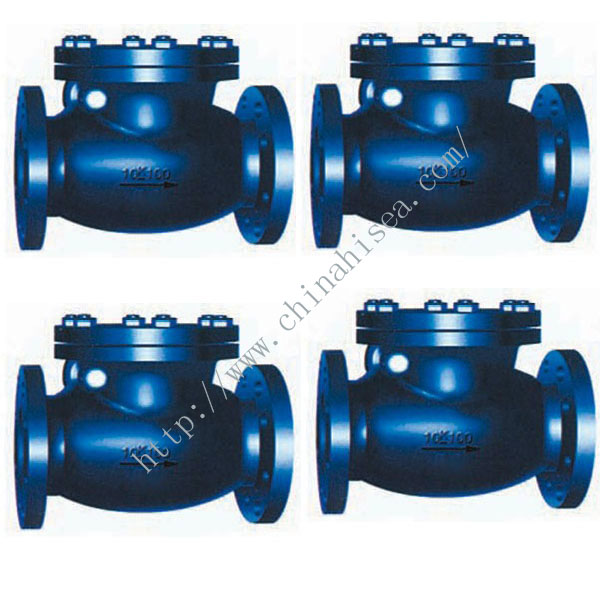 Marine Cast Iron Swing Check Valve JIS F7373 10K.jpg