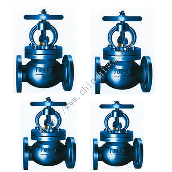 Marine Cast Steel Screw Down Check Globe Valve JIS F 7471 10K.jpg