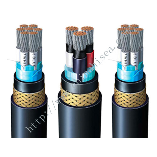 RFOU halogen free flame retardant offshore power cable